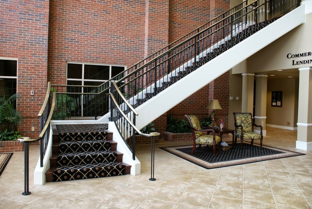 Straight Exterior Stairs