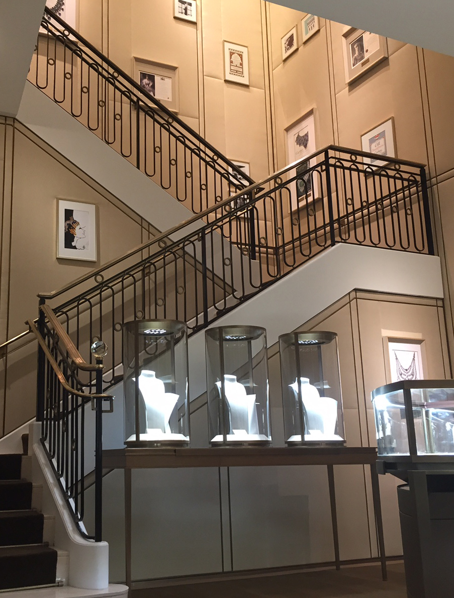 Jewelry Store Commercial Stairs