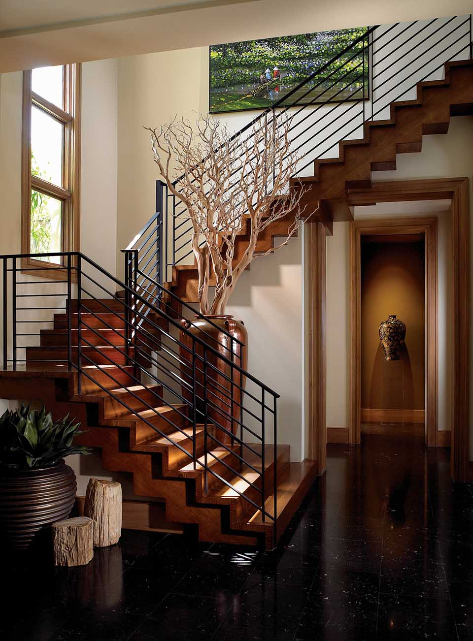 Home Interior Design: Artistic Stairs Canada