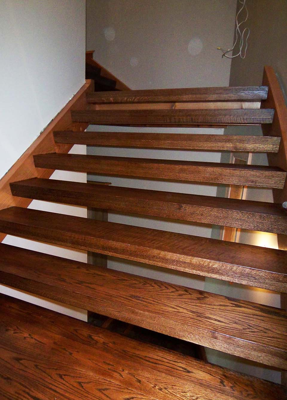 Rustic Staircase Design Amp Construction Artistic Stairs