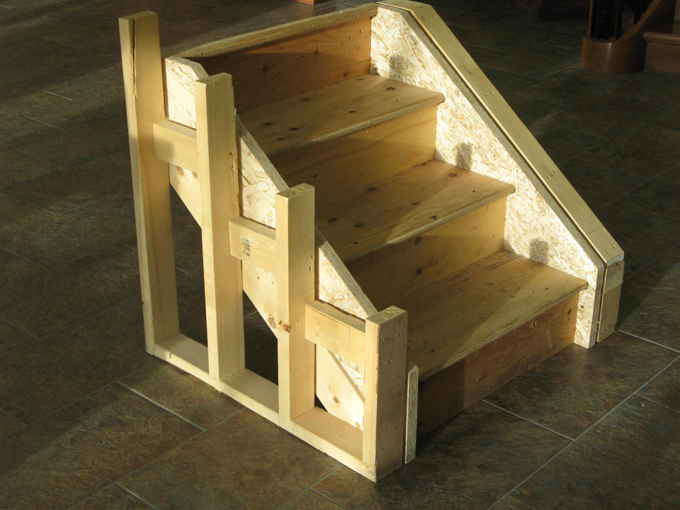 Charming Construction Grade Stairs 3