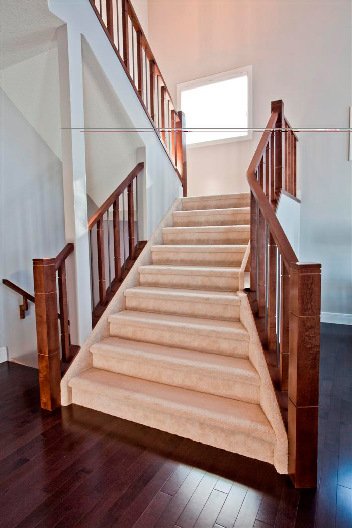 Flared Staircase Custom Staircase Artistic Stairs