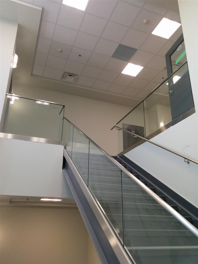 Commercial - Steel C-Channel Stair