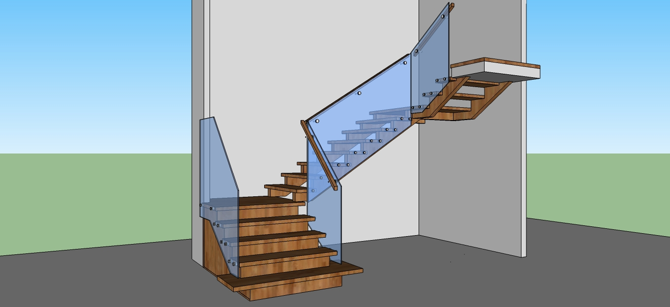 Artistic Stairs - 3D Stair Concept