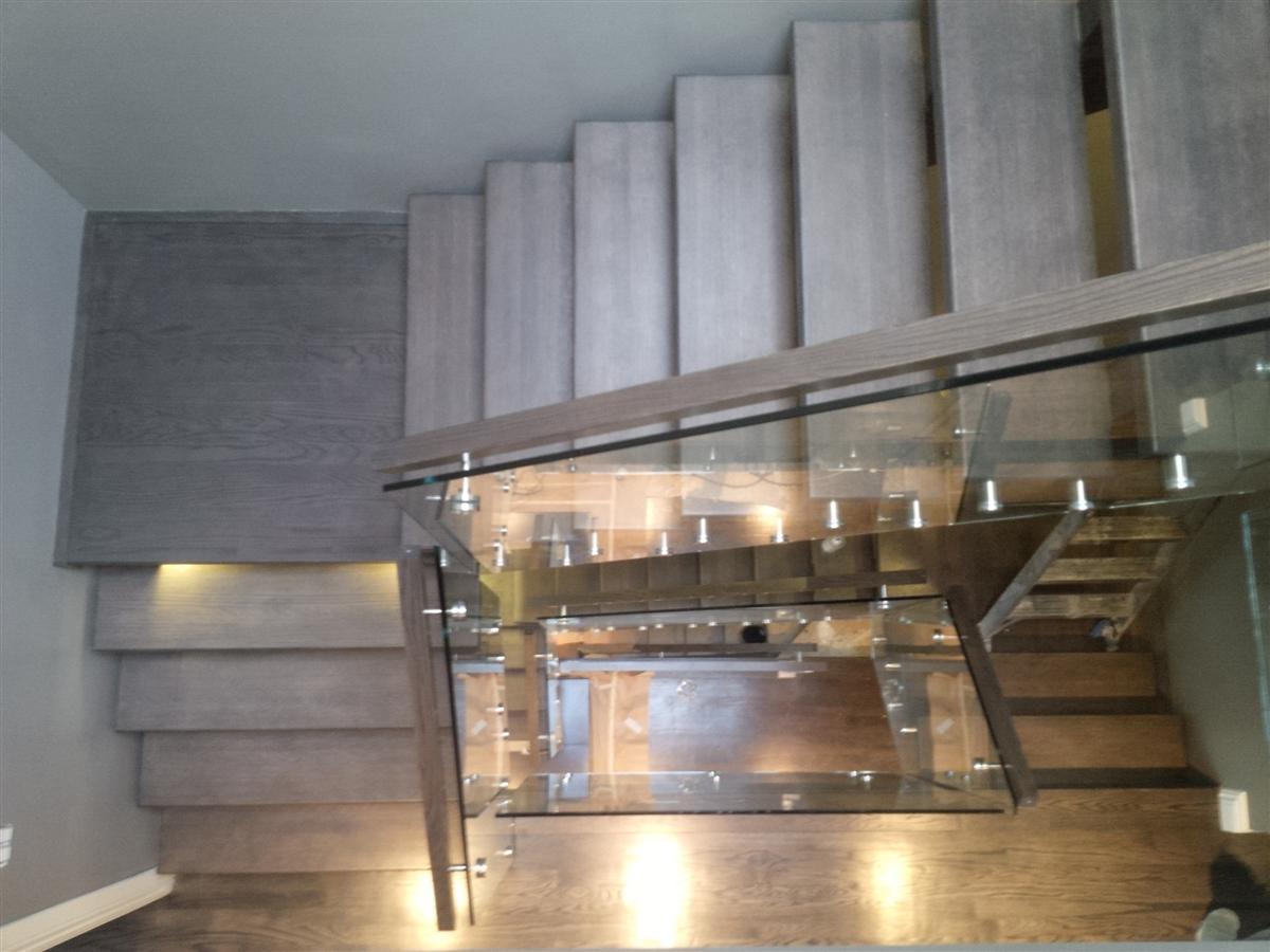 Artistic Stairs - Square Rail (Custom)