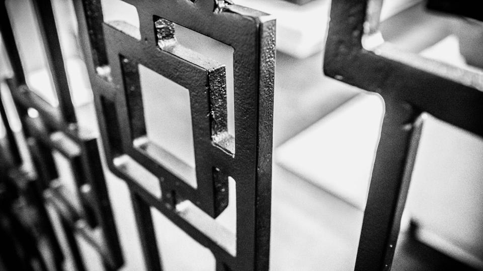Wrought Iron custom staircase