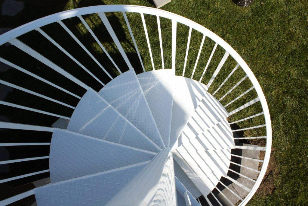 Spiral staircase design interior exterior artistic for Spiral staircase square