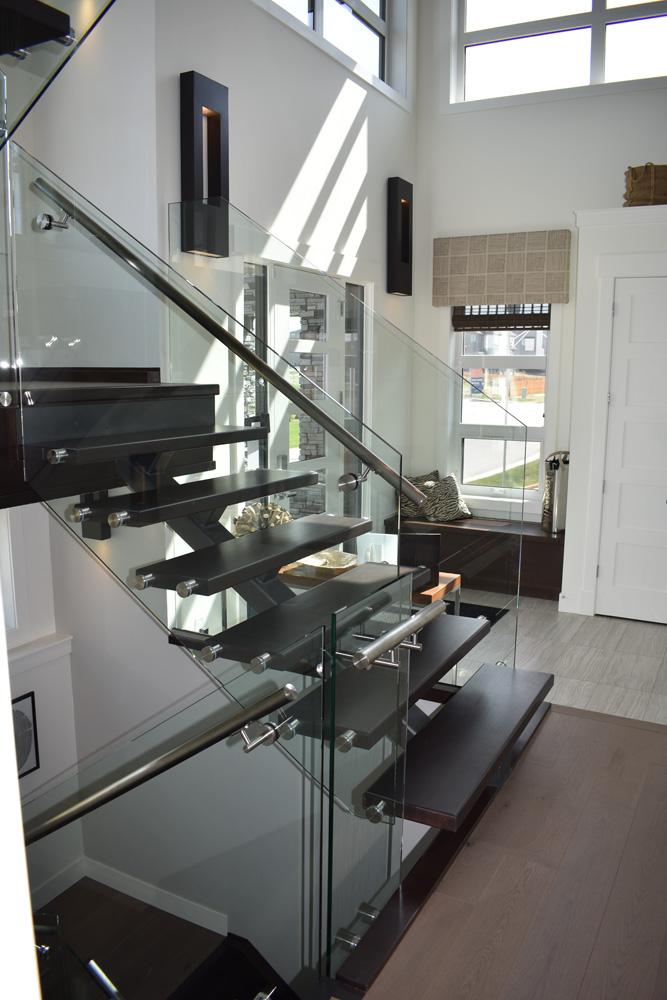monostringer glass stainless steel railing
